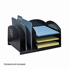 Combination Desktop Organizer, SAF-3167BL