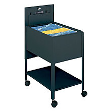 Mobile Extra Deep Legal Size Tub File with Lock, SAF-5363