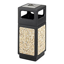 Outdoor Receptacle with Side Opening and Ash Urn, SAF-9470NC