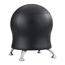 "Vinyl Ball Chair - 17.5""W, 8813822"