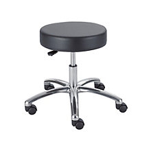 Adjustable Height Lab Stool in Vinyl, 8801279