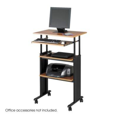 Portable Computer Desks Rolling Computer Carts OfficeFurniturecom