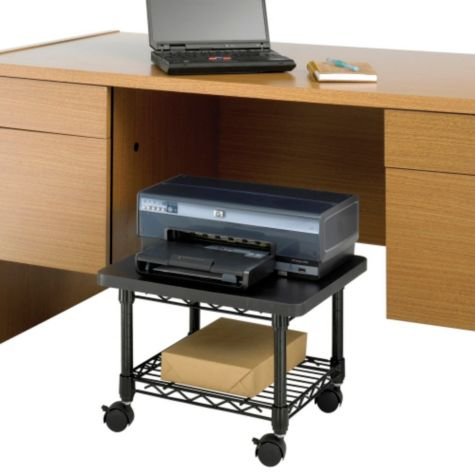 Great for under desks or credenzas