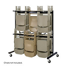 Two-Tier Folding Chair Cart, 8801527