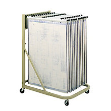 Mobile Vertical Filing Stand, 8801528