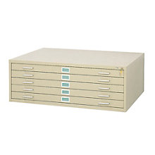 Five Drawer Flat File Fits 30 W X 42 D Files 8801946
