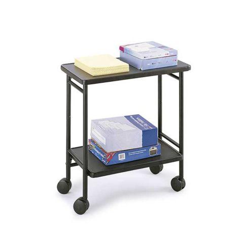 Doubles as an office cart.