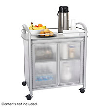 Silver Refreshment Cart, SAF-8966GR