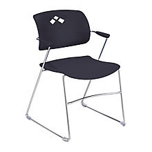 Veer Stack Chair with Flexible Back, 8813734