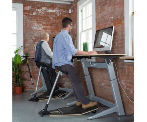 Perfect for use at a height adjustable desk