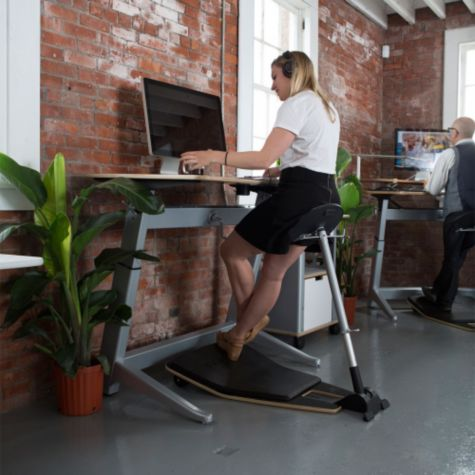 Comfortable for use at a desk