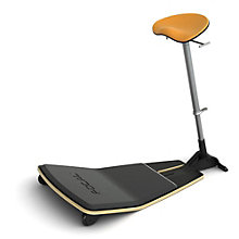 Focal Upright Locus Perch Stool with Anti-Fatigue Mat, 8804661