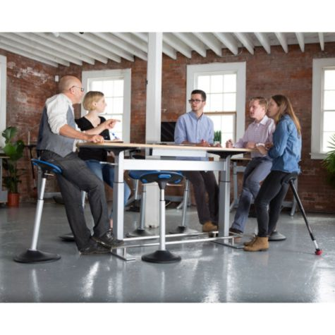 Shown in use in a meeting space