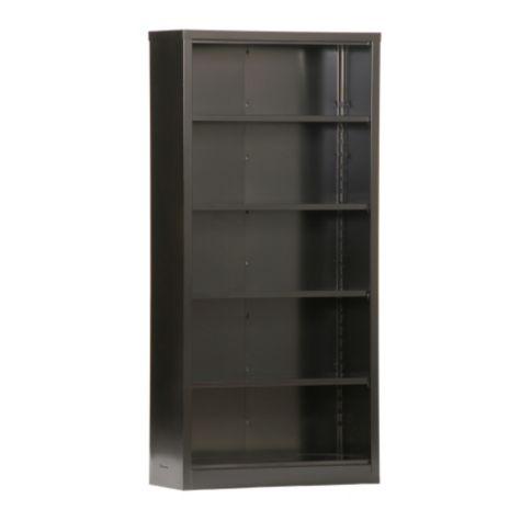 Snap It Five Shelf Steel Bookcase 72h