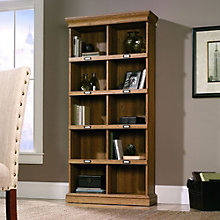 "Barrister Lane 10 Cubbyhole Bookcase - 75""H, SAU-11058"