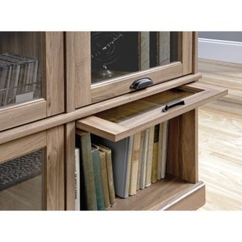 Barrister Lane Tv Stand With Flip Up Glass Doors
