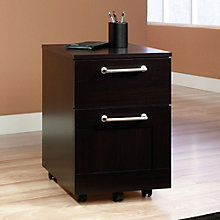 "Town Two-Drawer Mobile File - 22.75""H, SAU-11072"