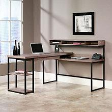 """Transit L-Shaped Modern Computer Desk - 61""""W x 59""""D, SAU-11075"""