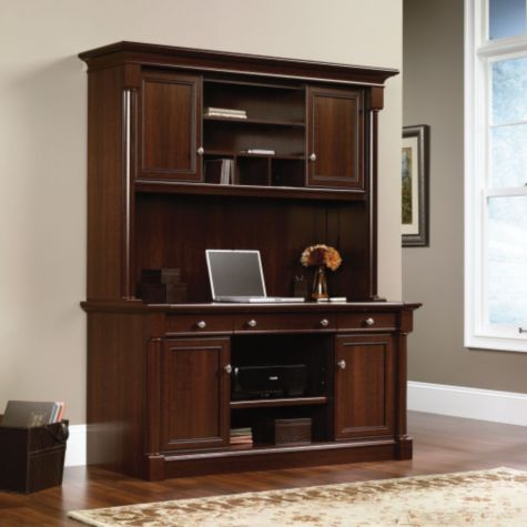 Image of credenza with hutch