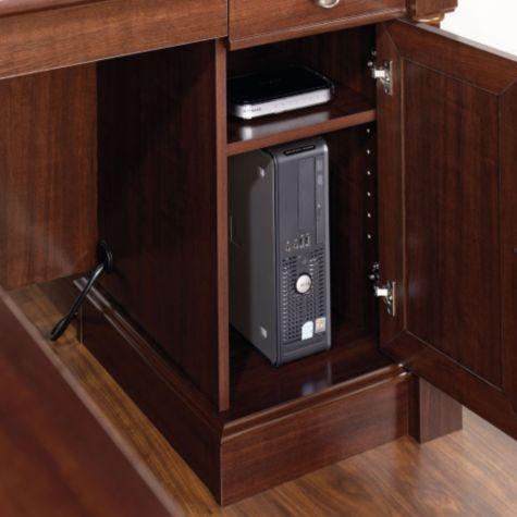 Storage tower with adjustable shelf