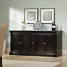 "Palladia Storage Credenza with Glass or Wood Doors - 70""W x 19.5""D, 8803063"