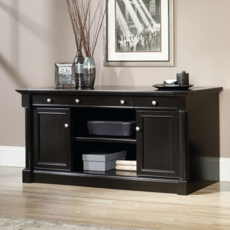 Credenza without hutch