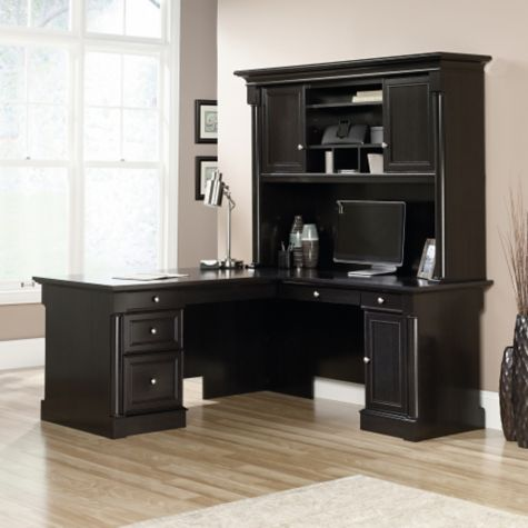 Avenue Eight L Desk W Hutch 65 Quot W By Sauder