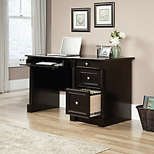 "Palladia Single Pedestal Computer Desk - 53""W, 8803071"