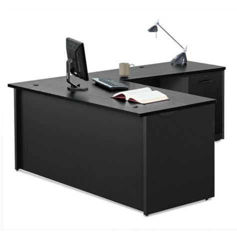 Compact L-desk
