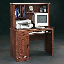 Camden County Computer Desk and Hutch, SAU-1736-100