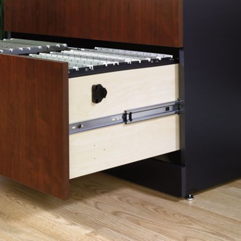 Full-extension slide drawers
