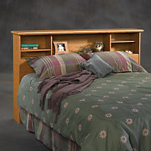 Orchard Hills Queen Bookcase Headboard, SAU-401294