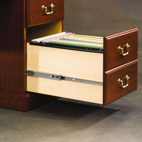 Full extension drawers
