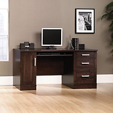 Office Port Dark Alder Computer Credenza, SAU-408291