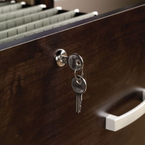 File drawers lock