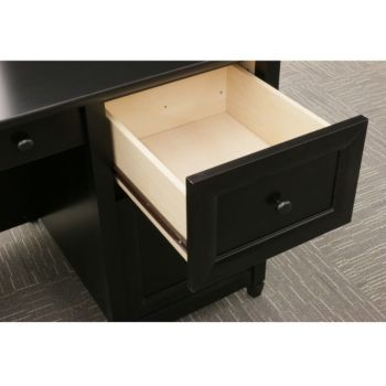 65 Quot W Edge Water Executive Desk By Sauder Officefurniture Com