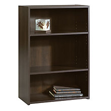 Beginnings Cinnamon Cherry Three Shelf Bookcase, SAU 409086