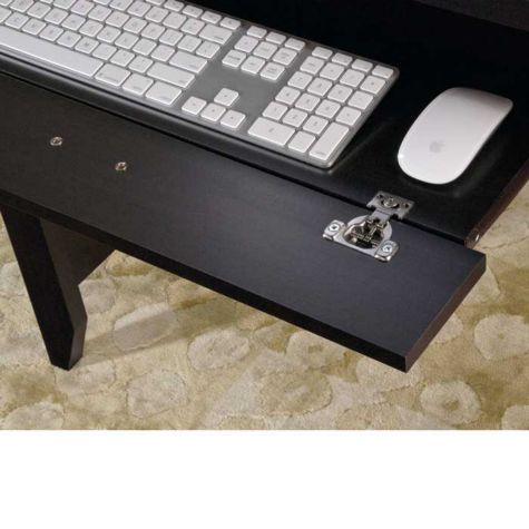 Slide-out keyboard/mouse shelf