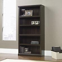 Cinnamon Cherry Finish Five Shelf Bookcase, SAU-410174