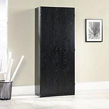 Ebony Ash Storage Cabinet, SAU-410814