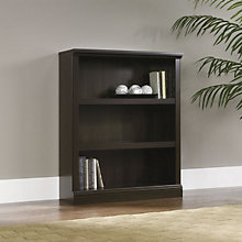 Cinnamon Cherry Three Shelf Bookcase, SAU-411816
