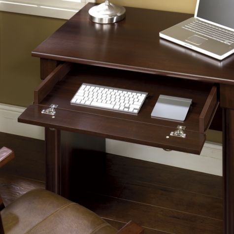Drop Down Front Keyboard Tray