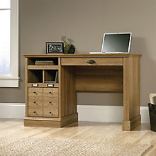 "Barrister Lane Compact Single Pedestal Desk - 47""W, 8804362"