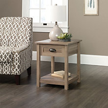 """County Line Single Drawer End Table - 20""""W, 8804393"""