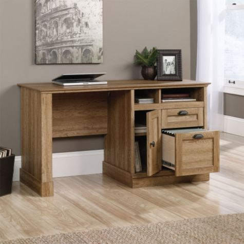 Shown with cabinet and file drawer open