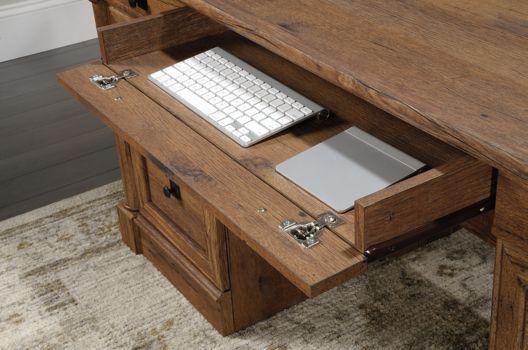 65 Quot W Sauder Palladia Executive Desk Officefurniture Com