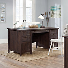 "Costa Double Pedestal Executive Desk - 65""W, 8813381"