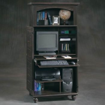 Harbor View Computer Armoire By Sauder Officefurniture Com