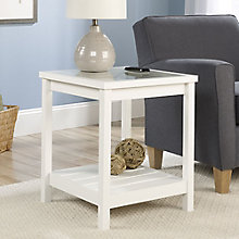"Cottage Road Glass Top Side Table - 24.96""W, 8801657"