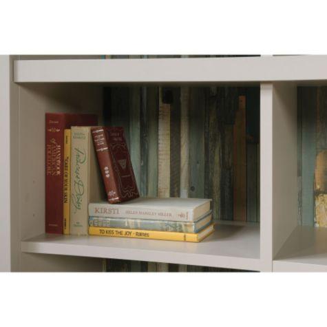 Inside shelf with reversible back